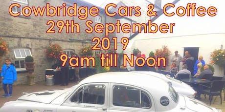 Cowbridge Cars & Coffee 2019 mug give away tickets