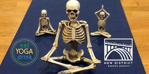 Spookasana: Halloween Yoga at New District