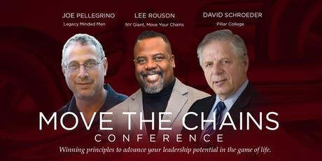 Move the Chains - Winning principles to advance your leadership potential in the game of life! tickets