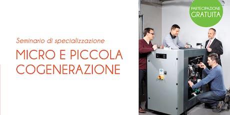 MILANO - MICRO E PICCOLA COGENERAZIONE biglietti