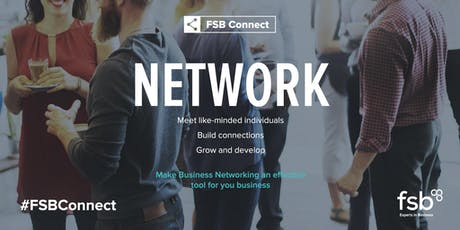 #FSBConnect Networking: Holywell - 8 October  tickets