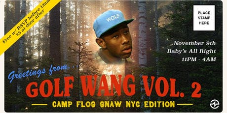 Golf Wang Vol.2: Camp Flog Gnaw NYC Edition tickets