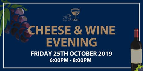 Cheese & Wine Evening tickets