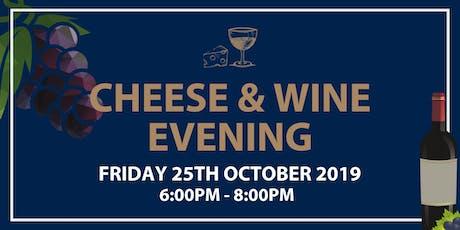 Cheese & Wine Evening tickets