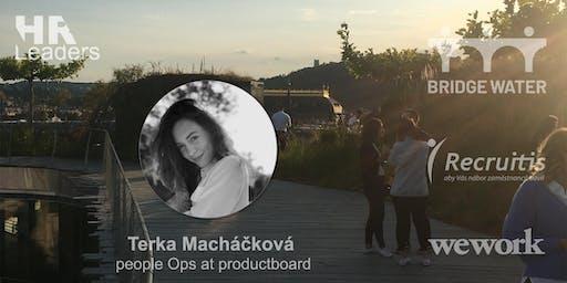 Rozhovory s HRLeaders.cz - Terka Macháčková z productboardu