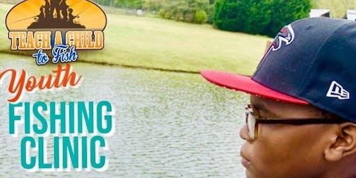 Youth Fishing - Charles Drew Charter Team