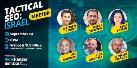 Tactical SEO: Israel Meetup  tickets