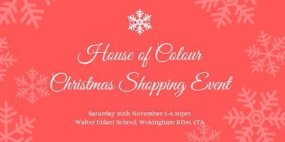 House of Colour Christmas Shopping Event