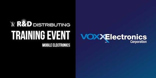 2019 Voxx Electronics Training - Detroit