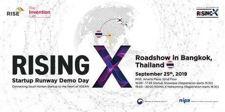 RISING X Startup Runway Demo Day in Bangkok tickets