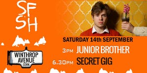 Junior Brother -  FREE GIG - Sounds From A Safe Harbour