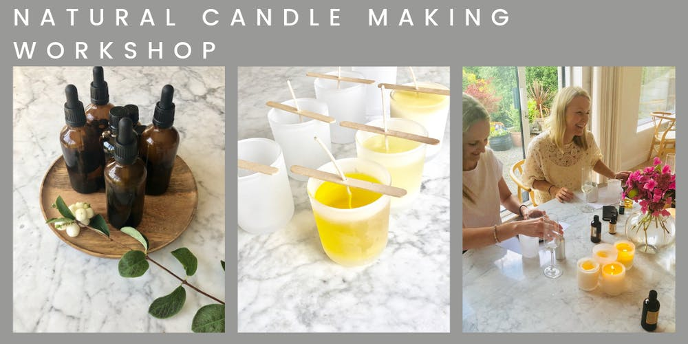 NATURAL CANDLE MAKING WORKSHOP by YOUGI Tickets, Sun 6 Oct