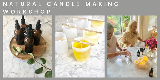 NATURAL CANDLE MAKING WORKSHOP by YOUGI
