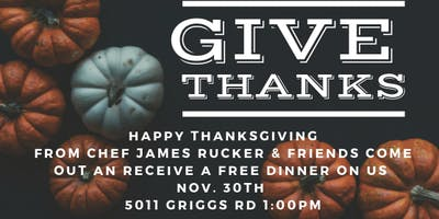 Giving Thanks with Chef James Rucker & Friends