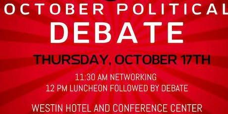 2019 CBDA Political Debate Luncheon tickets