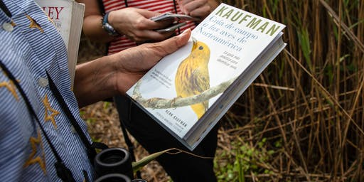 Birding with Kenn Kaufman and Grange Audubon Center