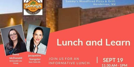 Lunch & Learn series by Green Valley Lifestyle
