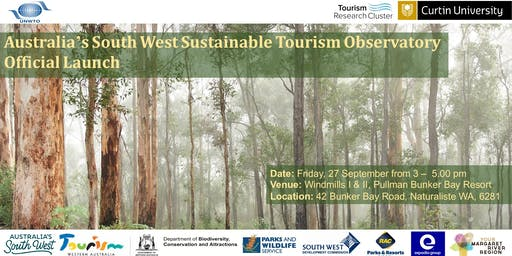 Official Launch | Australia's South West Sustainable Tourism Observatory