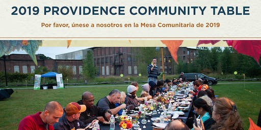 2019 Providence Community Table