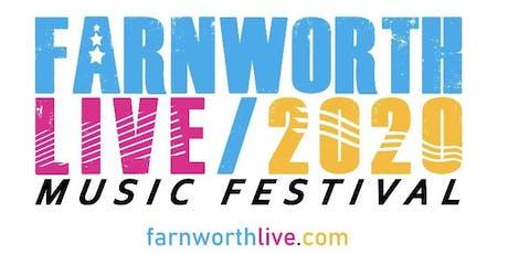 Farnworth Live 2020 tickets