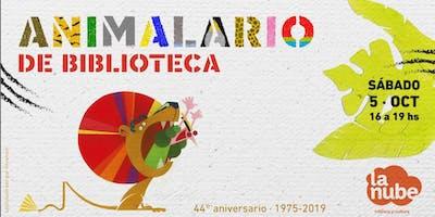 Animalario de Biblioteca - 44º Aniversario de LA NUBE