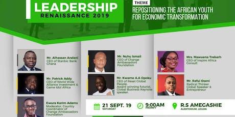 LEADERSHIP RENAISSANCE 2019 tickets
