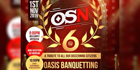 OSN @ 6  - The Anniversay Groove tickets