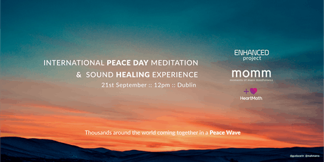 International Peace Day Meditation & Sound Healing Experience tickets
