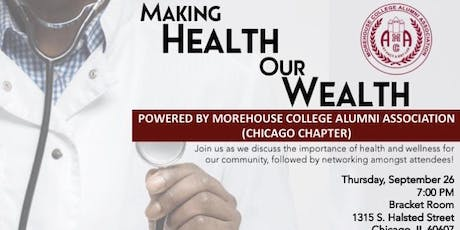 Making Health Our Wealth, a Fireside Chat tickets