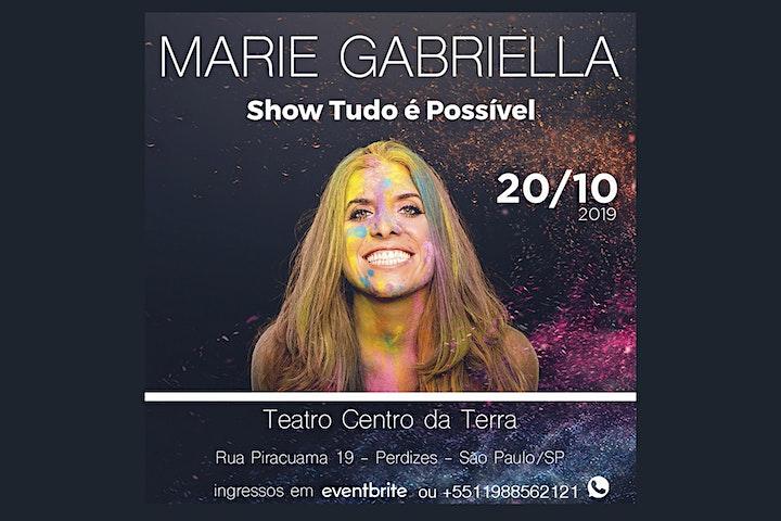 Imagem do evento Marie Gabriella em São Paulo