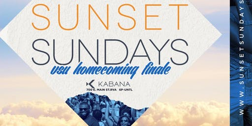 Sunset Sundays: VSU Homecoming Finale Brunch and Day Party