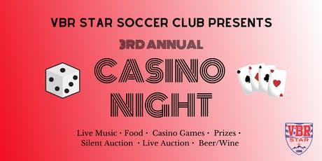 3rd Annual VBR Star Casino Night tickets