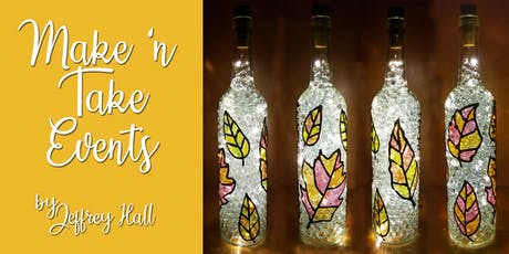 Make N Take Event - Stained Glass Fall Bottle - Gallows Hill Spirits tickets