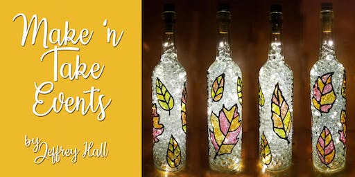Make N Take Event - Stained Glass Fall Bottle - Gallows Hill Spirits