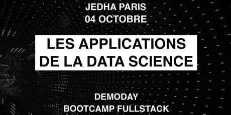 DEMODAY - Les applications de la Data Science billets