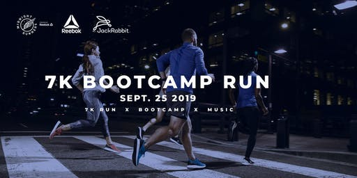 REEBOK Presents: Midnight Runners 7k Bootcamp, hosted by JackRabbit