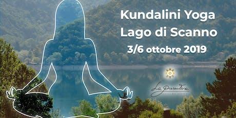 Tre incontri di Yoga Kundalini sul Lago di Scanno tickets