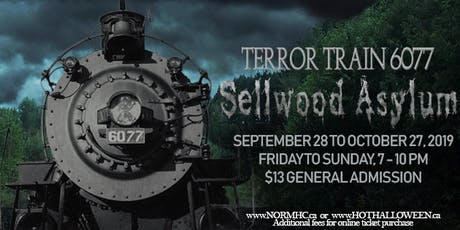Terror Train 6077 - Sellwood Asylum tickets
