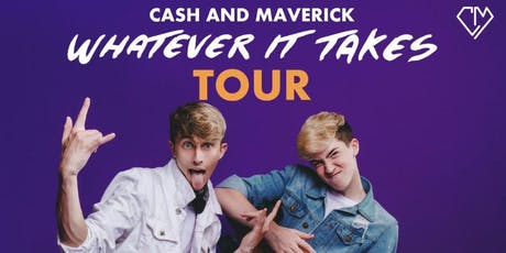 Cash and Maverick Baker tickets