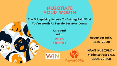 Negotiate Your Worth tickets
