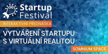 Vytváření startupu s virtuální realitou tickets