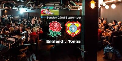 England v Tonga Brunch ticket
