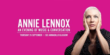 Annie Lennox - An Evening of Music and Conversation Event Parking tickets