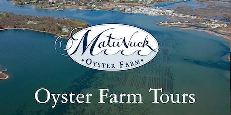 Matunuck Oyster Farm Tour tickets