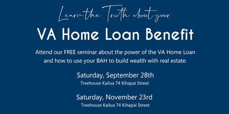 Free Seminar: VA Home Loan Benefits tickets