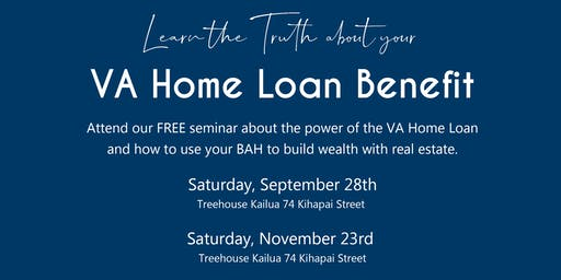 Free Seminar: VA Home Loan Benefits