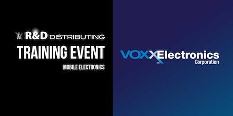 2019 Voxx Electronics Training - Grand Rapids tickets
