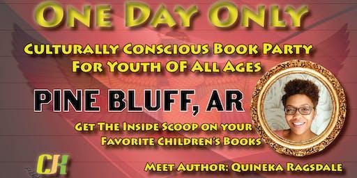 Pine Bluff CJK Publishing Book Party
