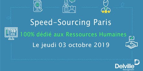 Speed-Sourcing - Ressources Humaines - Paris - 3 octobre 2019 billets