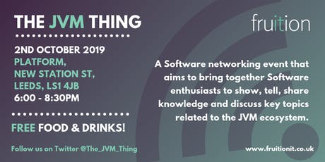 The JVM Thing - Leeds  tickets